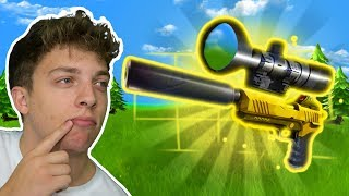Download SNIPING WITH LEGENDARY PISTOL! (Fortnite Battle Royale) Video