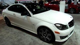 Download 2013 Mercedes-Benz C250 Coupe Sport Line - Exterior Walkaround - 2013 New York Auto Show Video