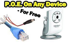 Download DIY Power Over Ethernet on NON POE Devices - For Free Video