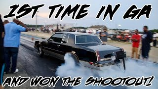 Download NIGHT TRAIN TURBO 442 1ST TIME IN GA AND WON THE SHOOT OUT AT SHUT UP AND RACE1 Video