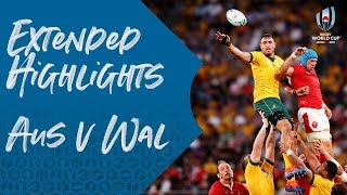 Download Extended Highlights: Australia 25-29 Wales - Rugby World Cup 2019 Video