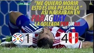 Download PARAGUAY 1 VS PERU 4 RELATO PARAGUAYO #ELEM.RUSIA 2018/NADIE LO PODIA CREER Video