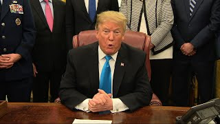 Download Trump moving closer to creating a Space Force Video