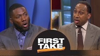 Download Stephen A. and Ryan Clark argue about players protesting during national anthem | First Take | ESPN Video