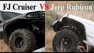 Download Toyota FJ Cruiser vs Jeep Wrangler, Rubicon, Interco TSL SX2 vs Maxxis Trepador, off road, 4x4 Video