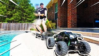 Download WORLD'S BIGGEST RC CAR TOWING ME!! Video