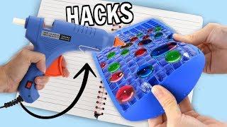 Download 7 GLUE GUN LIFE HACKS + DIYS for BACK TO SCHOOL! Video
