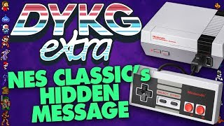 Download NES Classic Edition's Secret Message [Hidden Messages] - Did You Know Gaming? extra Feat. Dazz Video