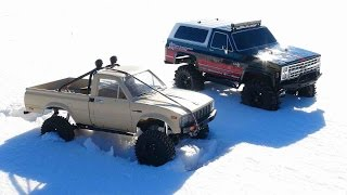 Download RC ADVENTURES - Trail Finder 2 Toyota Hilux 4x4 & Vaterra Ascender Chevy K5 Blazer Trucks Video