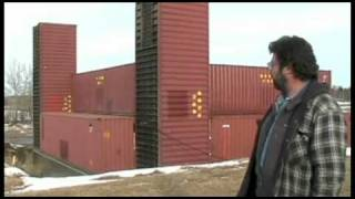 Download Part 1: Man building amazing home with shipping containers Video