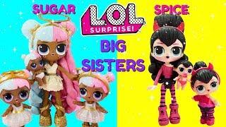 Download LOL SURPRISE Sugar & Spice Big Sisters Compilation DIY Shopkins Shoppie Custom Makeover Video