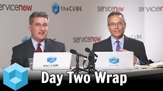 Download Day Two Wrap - ServiceNow Knowledge 2016 - #Know16 - #theCUBE Video