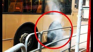 Download JX7966, the Skidding Bus / Burnout Video