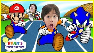 Download Mario and Sonic Rio Olympic! Epic Boxing Match! Let's play with Ryan's Family Review Video