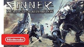 Download SINNER: Sacrifice for Redemption - Launch Trailer - Nintendo Switch Video