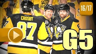 Download Columbus Blue Jackets vs Pittsburgh Penguins. 2017 NHL Playoffs. Round 1. Game 5. 04.20.2017 (HD) Video