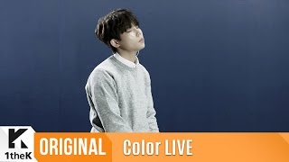 Download Color LIVE(컬러라이브):Jung Seung Hwan(정승환)'s Live that will warm up cold winter The fool(이바보야) Video