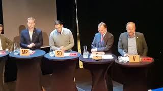 Download Jimmie Åkesson retar upp Sjöstedt Video