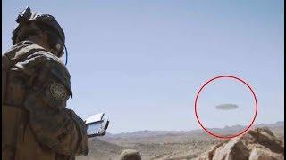 Download ¿Marines filman un gigantesco OVNI en el desierto de Arizona? Explicación 2017 Video