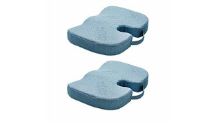 Download Miracle Bamboo 2pack Deluxe Seat Cushion Video