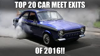 Download TOP 20 CAR MEET EXITS OF 2016!! Video
