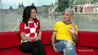Download Lucy Zelic gets emotional discussing Croatia's historic World Cup final appearance Video