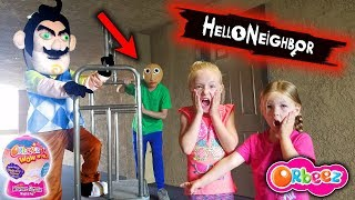 Download Hello Neighbor in Real Life in a Hotel! He Booked a Room!! Orbeez Wowser Suprise Toy Scavenger Hunt! Video