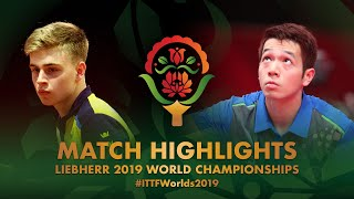 Download Truls Moregard vs Ho Kwan Kit   2019 World Championships Highlights (R128) Video