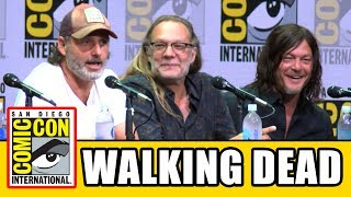 Download THE WALKING DEAD Comic Con 2017 Panel - News, Season 8 & Highlights Video