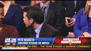Download Pete Hegseth destroys Jehmu Green - 'I have to sit here & listen to someone call Ted Cruz a terorist Video