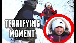 Download A Terrifying Moment Caught on Tape - ItsJudysLife Vlogs Video