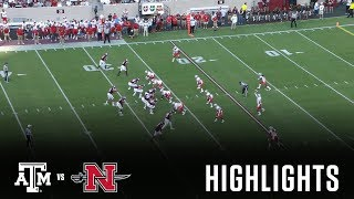 Download Football Highlights   Texas A&M vs. Nicholls Video