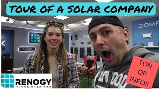 Download Where do I start with Solar Power? Tour of Renogy's show room with Sales/Tech Video