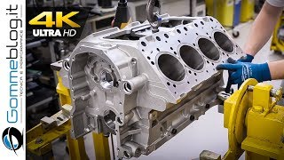 Download V8 ENGINE - Car Factory Production Assembly Line Video