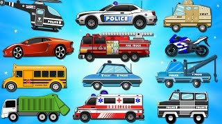 Download Police Car Wash | Bike Chase | Videos for Children | Kids Videos | Learn Vehicles Video