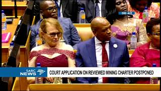 Download Court application on reviewed Mining Charter postponed Video