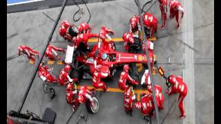 Download Ferrari F1 Pit Stop Perfection Video