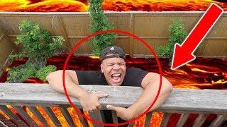 Download CRAZY THE FLOOR IS LAVA CHALLENGE!! *IN PUBLIC* Video