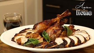 Download Asian at Home | Korean Glazed Turkey Video
