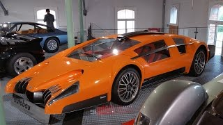 Download The Bizarre & Mysterious Autobau Car Collection Video