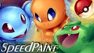 Download Pokemon SPEEDPAINT - pick Your Starter Pokemon! Video