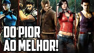 Download A SAGA RESIDENT EVIL DO PIOR AO MELHOR GAME! Video
