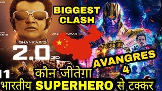 Download Robot 2.0 vs AVENGERS 4, Robot 2.0 Clashes with avengers 4 in china, Rajnikant Akshay kumar, Video