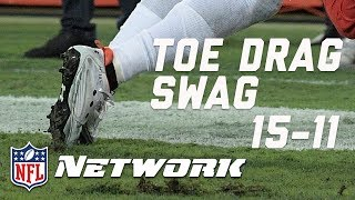 Download Breaking Down the Top 20 Toe Drag Swag Catches of 2016 (#'s 15-11) | Burleson's Best | GMFB | NFLN Video