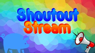 Download Live Shoutout Stream | Get onto the wall | Sub4Sub Stream | Get Moderator | Gain Active Subs Video