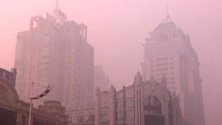 Download China's toxic smog problem Video