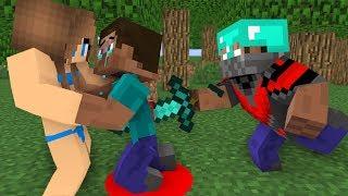Download Monster School : Steav life vs Cute girl Part (3)- Minecraft Animation Video