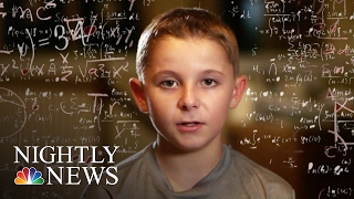 Download Inside The Mind Of Jaxon Cota An 11-Year-Old Kid Genius | NBC Nightly News Video