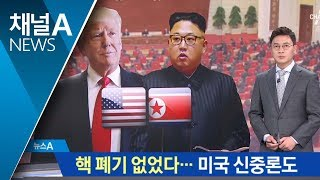 """Download 트럼프 """"환영""""…WP """"핵 폐기는 없었다"""" 신중론 Video"""