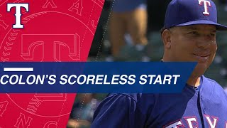 Download Colon blanks Mariners over 7 2/3 frames, K's 3 in win Video